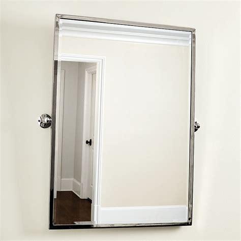 pivot bathroom mirrors emmie pivot bath mirror ballard designs