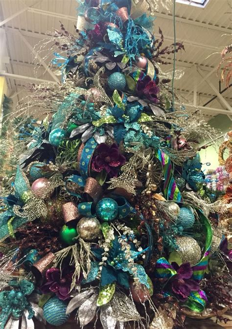 brown decorated tree 25 unique teal tree ideas on teal