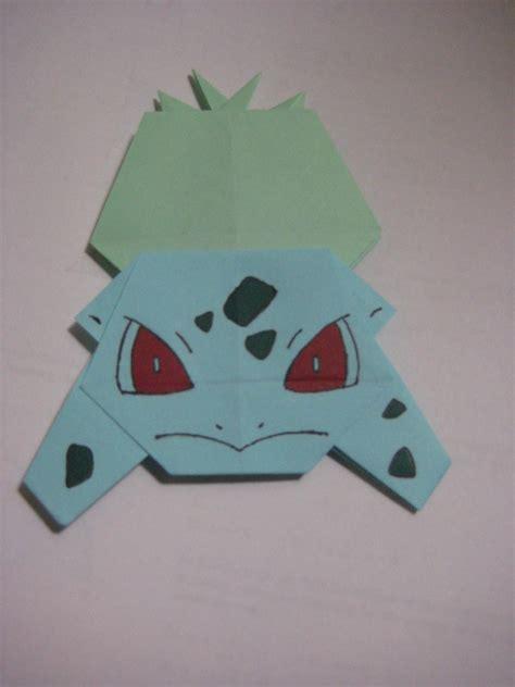 how to make origami bulbasaur no 001 bulbasaur by neko thief akio on deviantart