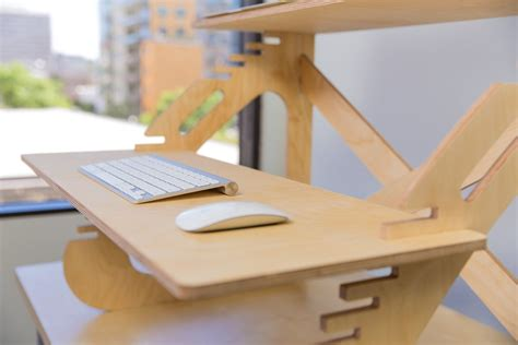 affordable diy standing desks ideas made from wood
