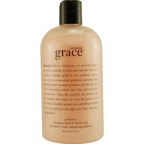 philosophy amazing grace shoo bath shower gel bathabody shop for bath and care