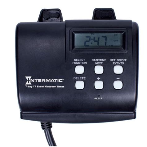 intermatic timer intermatic hb880r 15 7 day programmable weatherproof
