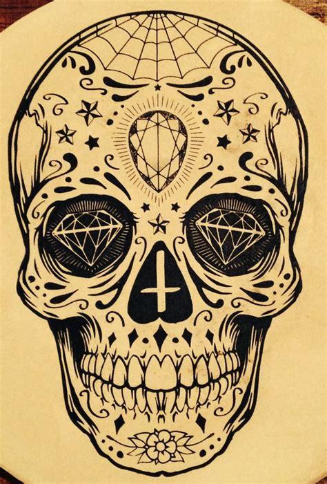 sugar skull 33 crazily gorgeous sugar skull tattoos designbump