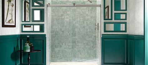 bathroom shower door frameless shower doors showering bathroom kohler