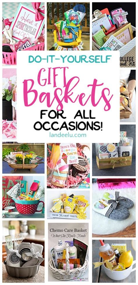 ideas for to make do it yourself gift basket ideas for all occasions gift