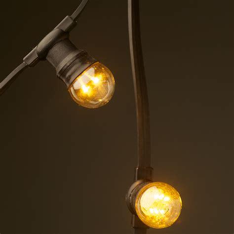 led festoon lights low voltage g45 led festoon kit at 50cm intervals