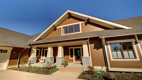 Custom Craftsman Style Homes New Craftsman Style Home