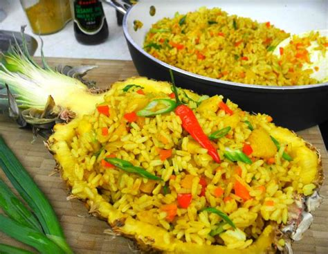 Red Boat Fish Sauce South Africa by Festive Vegetarian Pineapple Fried Rice Caribbeanpot