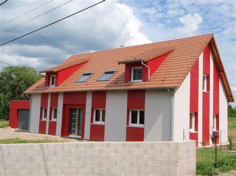 maison 224 ossature bois avec bardage abt construction bois