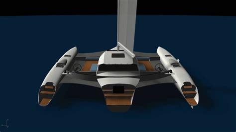 Schionning Catamaran Design by 15 Metre Performance Trimaran Exterior Schionning