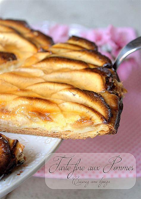 tarte aux pommes pate feuillet 233 e recettes faciles recettes rapides de djouza