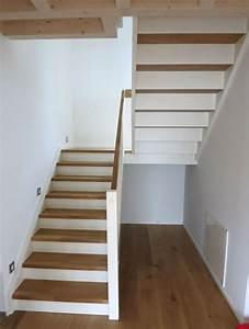 Halbgewendelte Treppe Mit Podest : wangentreppen von feuerstein ~ Markanthonyermac.com Haus und Dekorationen