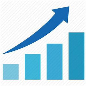 Graph, increase, price, rising, stock, table icon   Icon ...