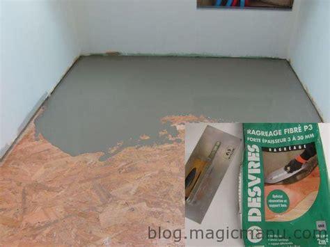 carrelage sur plancher bois pr 233 paration du sol magicmanu