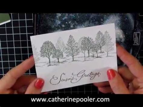Christmas Card Making Series #1 Stampin' Up Lovely As A