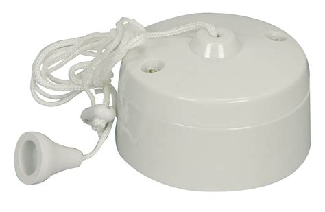 Pull Cord Switch A Way Ceiling Mounted Switch For