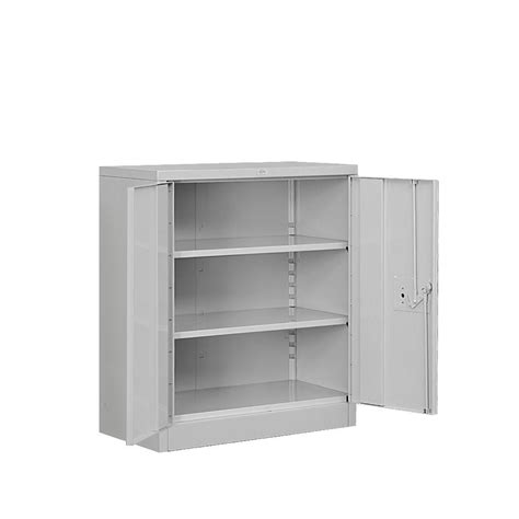 hdx 35 in w 4 shelf plastic multi purpose cabinet in gray 221872 the home depot
