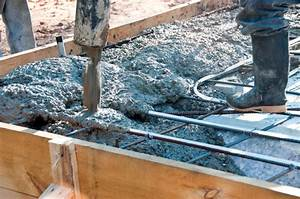 Estrich Im Außenbereich : beton mischen f r fundamente im au enbereich ~ Markanthonyermac.com Haus und Dekorationen