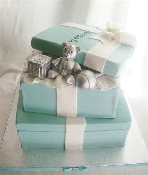 Tiffany & Co Baby Shower Cakes  Party Xyz