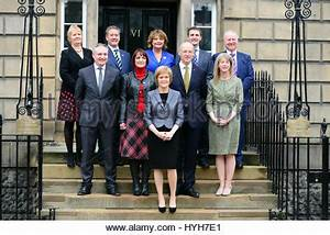 First Minister Nicola Sturgeon with her newly elected MPs ...