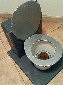 Knutselen: Toiletpot