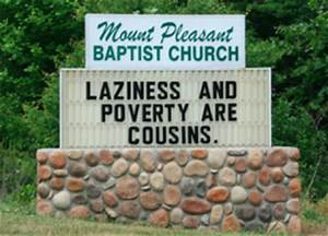 10 most un-Christian church signs - Salon.com