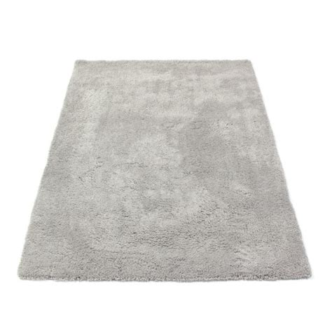 tapis de salon discount tapis shaggy gris argent photo un magnifique tapis shaggy with tapis de