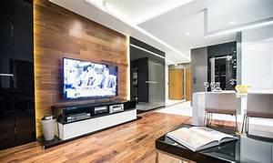 Tv An Wand Anbringen : fernseher an wand montieren die eleganteste variante ~ Markanthonyermac.com Haus und Dekorationen