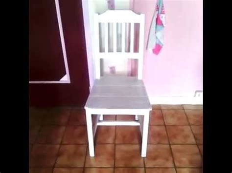 renover repeindre une chaise ik 233 a diy tuto