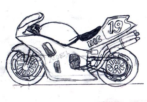 Sketch Of A Sports Bike By Parkeredwards On Deviantart