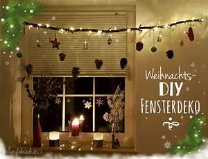 Deko Aus ästen Selber Machen : weihnachtsdeko diy fensterdeko mit sten sonofabeach ~ Markanthonyermac.com Haus und Dekorationen