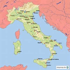 Italienische Schweiz Karte : italien gew sser und st dte von burwolf100 landkarte f r italien ~ Markanthonyermac.com Haus und Dekorationen