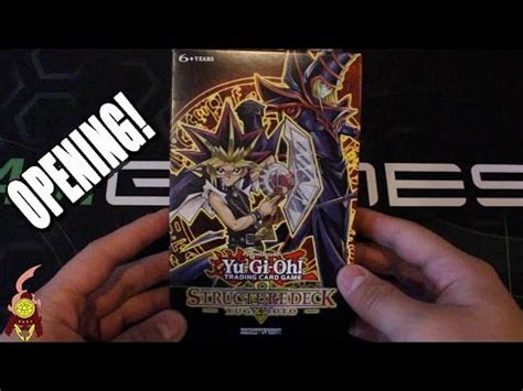 yugioh classic 2002 yugi starter deck opening and review doovi