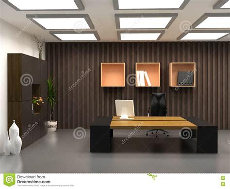 le bureau moderne photographie stock libre de droits image 2263387