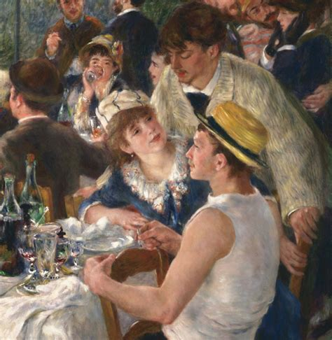 Luncheon Of The Boating Party By Pierre Auguste Renoir Analysis by Luncheon Of The Boating Party By Pierre Auguste Renoir