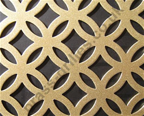 inner circular decorative steel grille antique gold 1000mm x 660mm x 1mm