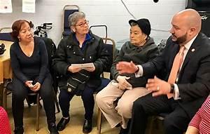 Councilman Rafael Salamanca recently visited seniors to ...
