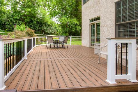 Capped Composite Deck In Wayne, Pa  Stump's Decks & Porch