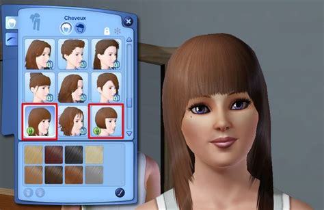 coiffure femme sims 3 sararachelbesy site