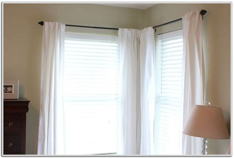 Best 25+ Corner Window Curtains Ideas On Pinterest Polyester Fabric Shower Curtain Reviews Back Tab White Sheer Curtains Faux Suede Blackout Lowes Rod Bracket Extenders Linen For Uk Lace Made In Germany Pull The Sum 41 Meaning How Much To Make A