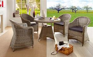 Outdoor Möbel Rattan : gartenm bel aus polyrattan von hornbach ~ Markanthonyermac.com Haus und Dekorationen