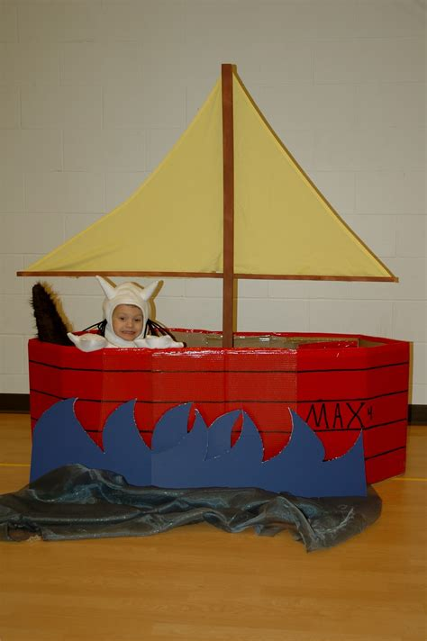 Cardboard Boat Where The Wild Things Are by Shorties Funny Farm Where The Wild Things Are Birthday
