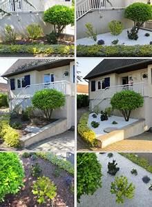 Baum Für Schattigen Vorgarten : ideen zur vorgartengestaltung mit kies und split ~ Markanthonyermac.com Haus und Dekorationen