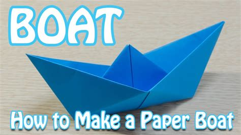 How To Make A Paper Boat Step By Step With Pictures by How To Make A Paper Boat That Floats In Water Step By