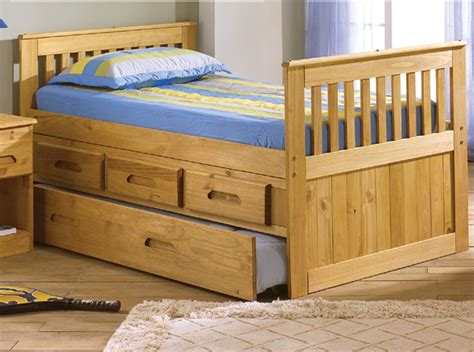 expeditions size trundle captains bed bed frames discovery world furniture