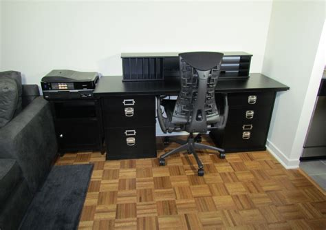 bedford modular desk and technology hub from pottery barn