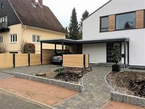 Carport Im Vorgarten : carport und eingangs berdachung haus pinterest carport haus und garten ~ Markanthonyermac.com Haus und Dekorationen