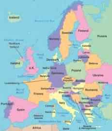 modern europe travel log