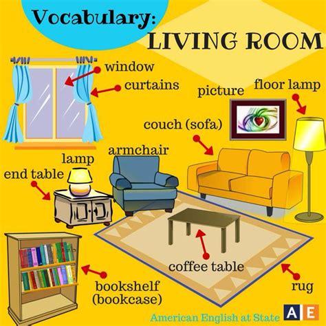 Vocabulary  Living Room  Vocabulary  Pinterest  Living