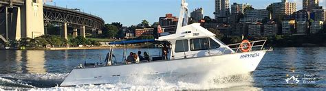 Boat Fishing Spots Sydney Harbour by Brynda Boat Hire Private Fishing Charter Sydney Harbour